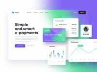 PayUp | Payment platform gradient fintech app branding payment fintech web app application ux ui design