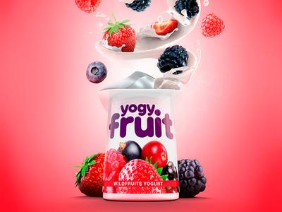 Wildberries Yogurt Splash