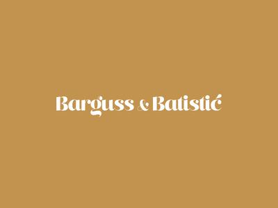 Barguss & Batistić