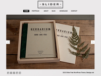 Slider Responsive WordPress Theme