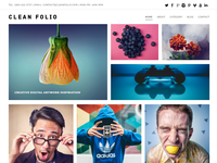 Clean Folio Responsive Theme