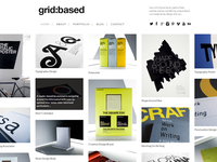 Grid Based Responsive Theme