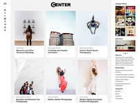 Center Responsive WordPress Theme