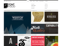 Fontfolio Free WordPress Theme