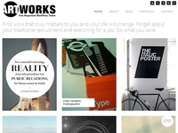 ArtWorks Free WordPress Theme