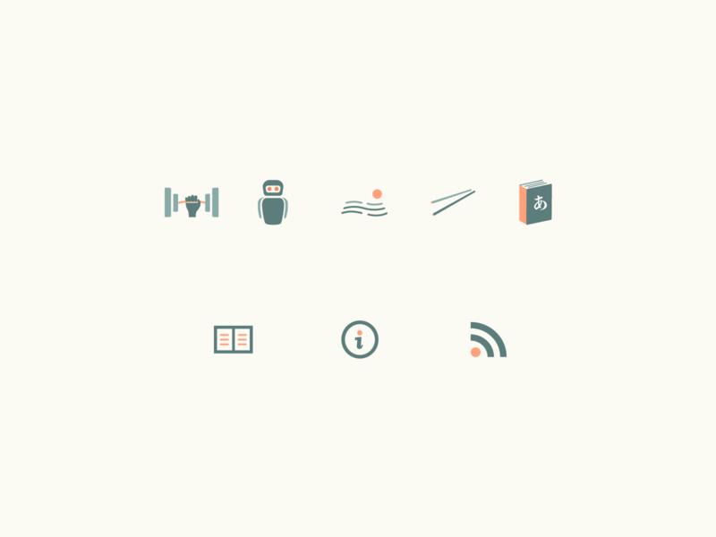 Blog Icons Design web logo icon