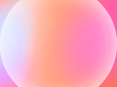 Holographic Getting Started Animation made in Figma minimalism simplicity 2danimation vector welcome screen smooth animation smooth prototype animation meditation calm minimal holographic pastel colors figma animation ux swipe getting started ui