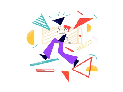 Geometry Web Illustration Set