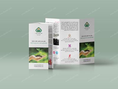 Bonyad Ali Charity Tri-Fold Brochure