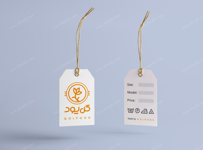 Golpood swing tag