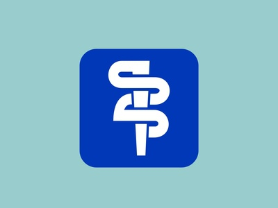 Iconic logo for medical social network