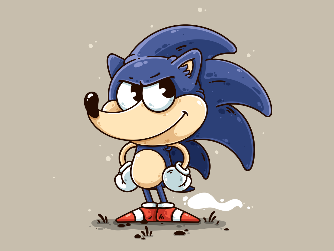 Sonic By Craig Seagreen On Dribbble