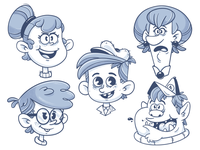More character doodles