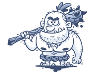 Caveman concept