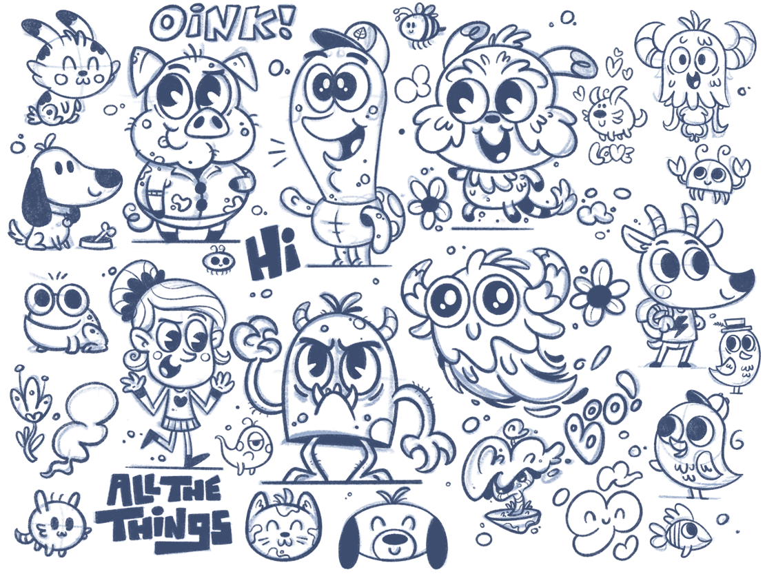 Doodle Art Cute Designs To Draw