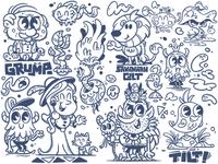 Doodle series