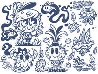 Doodle Series - Wondrous creatures