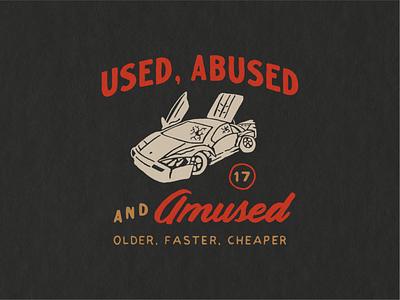 Ideal Media T-Shirt illustration car vintage lettering typography hand drawn