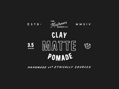 Clay Pomade Label v2