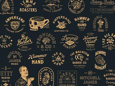 2018 branding illustration typography hand drawn lettering