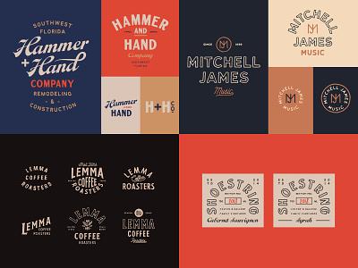 2018 badge type branding logo hand lettering vintage lettering typography hand drawn