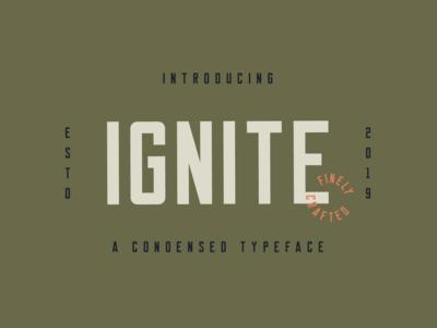 Ignite (Free Font)