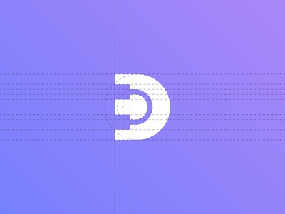 D+ headset Negative Space Logo