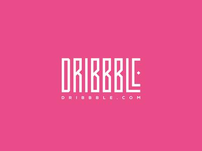 Dribbble - Typography Logo