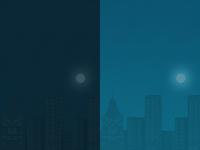 Dark~Light App Background