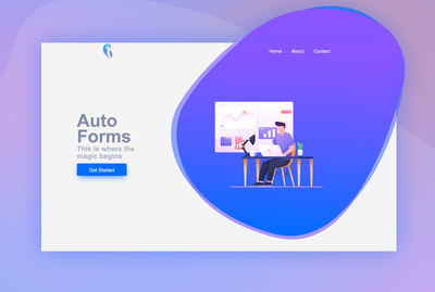Auto Forms Landing Page