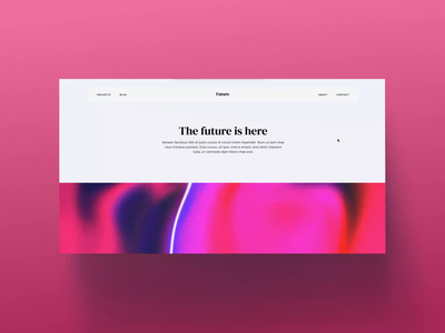 Interactive website — Webflow ux cinema4d website webflow web design ui interactive design inteface illustration design