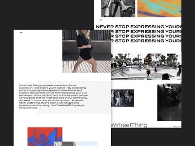 #TheWheelThing advertising illustration brand design webflow ui web design interactive design inteface branding design