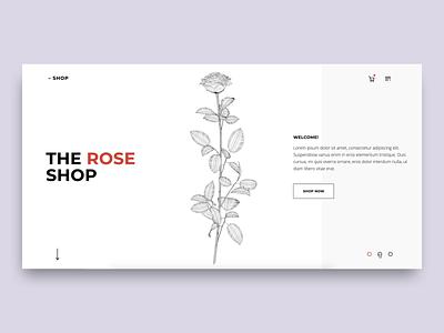 3D Rose in Webflow cinema4d c4d illustration brand design webflow web design interactive design inteface ui branding design lottie