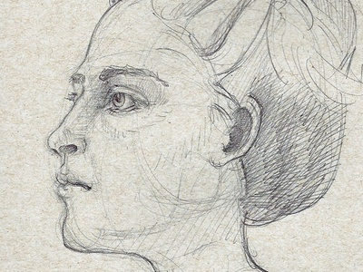 Angelina 5 Min figure drawing life drawing