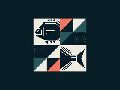 Coastal Collage 2 logo illustration design graphics graphic designer vector art icon square lock up design clean simple illustrator vector design illustration branding elegant color graphic design vector shapes