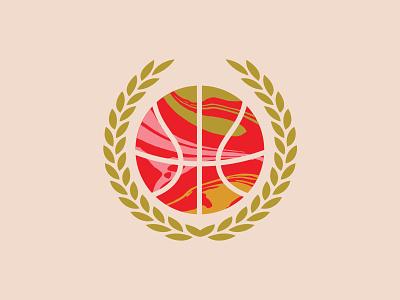 Ball So Hard University typography texture slam dunk sixties bold retro hippy hippie groovy basketball university