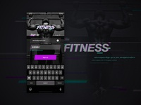 D004: Sign up & log in for FITNESS