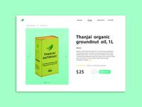 DailyUI #012 - E-Commerce Shop (Single Item)