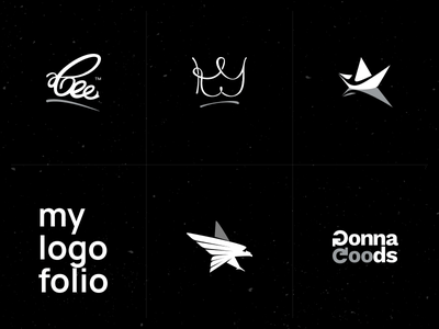 My first logofolio logotype branding collection symbols brands design illustrator logofolio logos