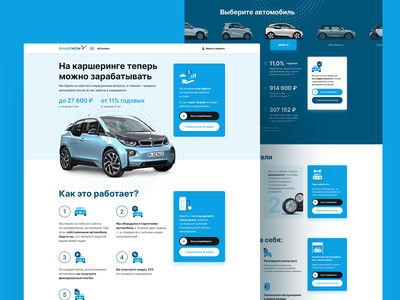 Sharenow. Сarsharing graphicdesign sharenow collaborate avis tilda figma web webdesign uidesign ux ui interface business rent car