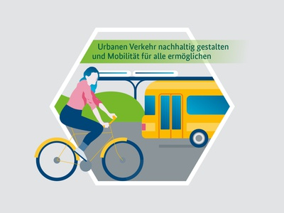 Illustrations for Smart Governance yellowtoo simplicity bike subway bus smart government