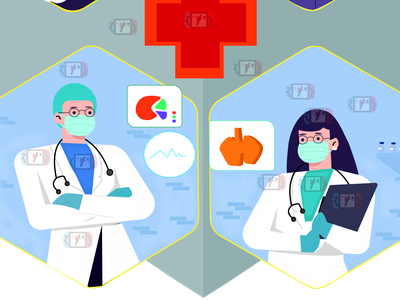 doctor ui icon ui  ux flat animation design illustrator ilustrator vector illustration