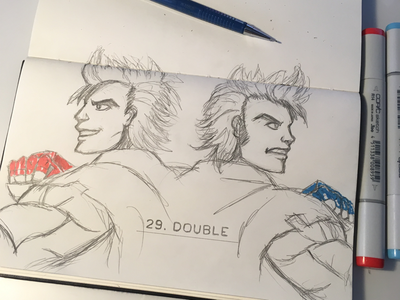 Double Dragon Neon Designs Themes Templates And Downloadable