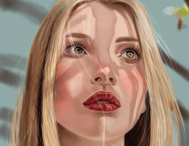 new Digital Painting Portrait graphic graphicdesign concept character concept design wacom photoshop art concept art character digital painting drawing