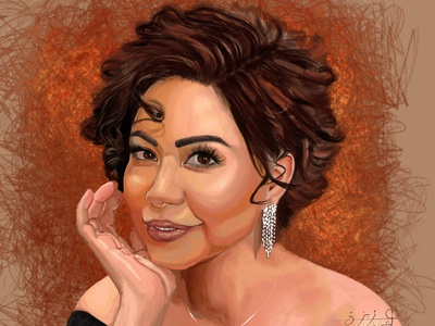 sheren Digital painting