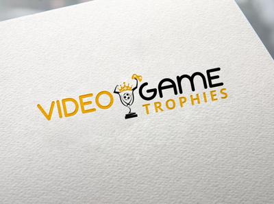 Video games Trophies branding design logo vector logo design