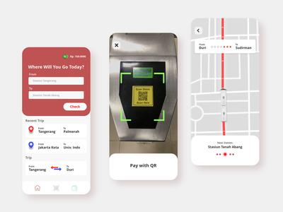 Exploration Commuter App