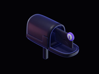 Mailbox - 3D Animatied Illustration