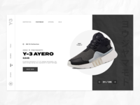 Product Category Page Concept