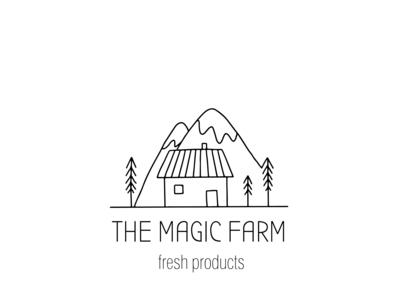 The magic farm - farm logo